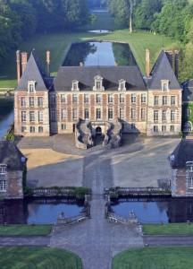 Château-vue du ciel