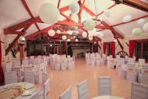 Salle pour un mariage
