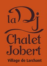 Logo auberge Dame Jouanne, chalet Joubert