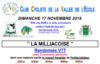 """Randonnée VTT """"La Milliacoise"""""""