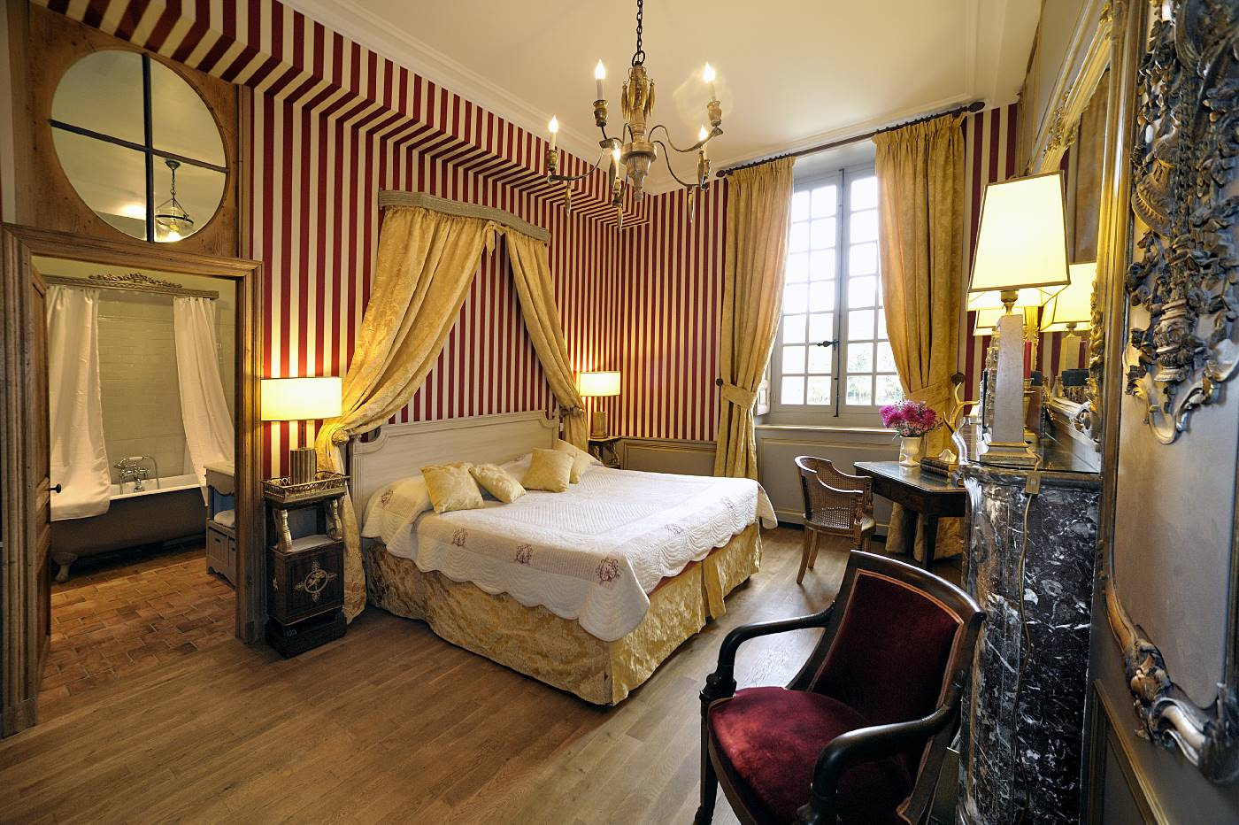 Chambre Racamier du Château de Bourron-Marlotte