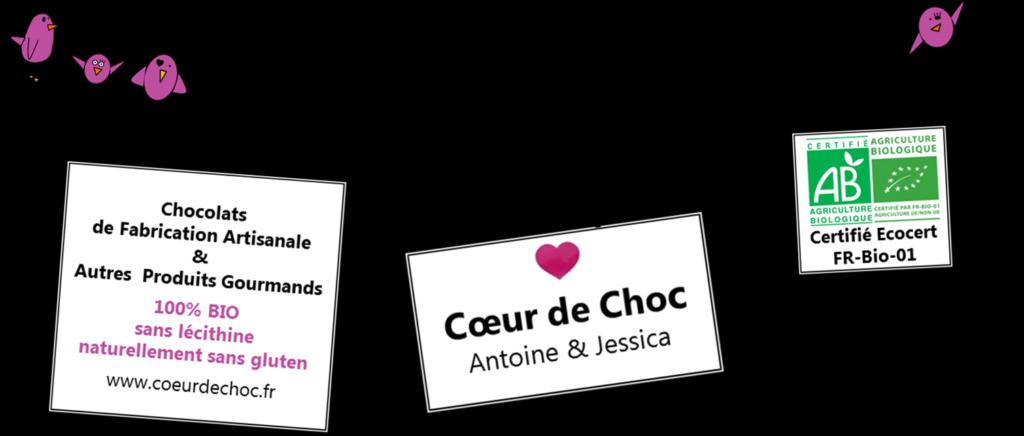 Bandeau publicitaire de Cœur de Choc