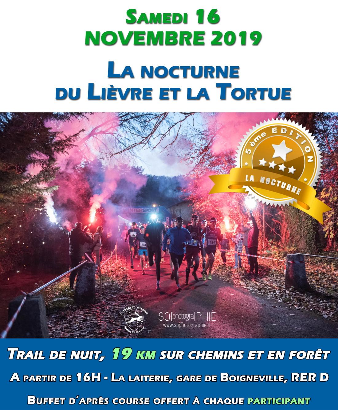 Trail Nocturne du Lièvre et la Tortue