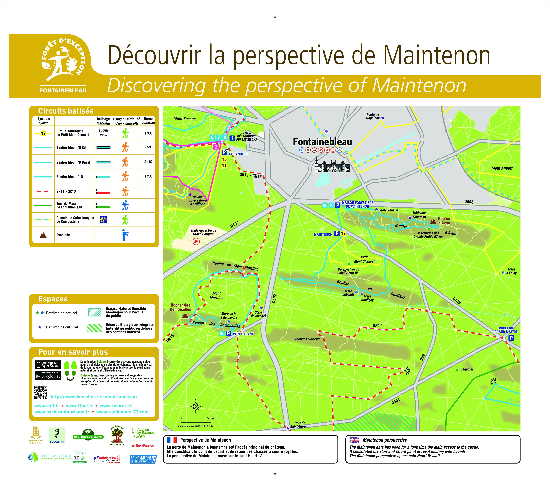 Découvrir la forêt dans la perspective de Mintenon