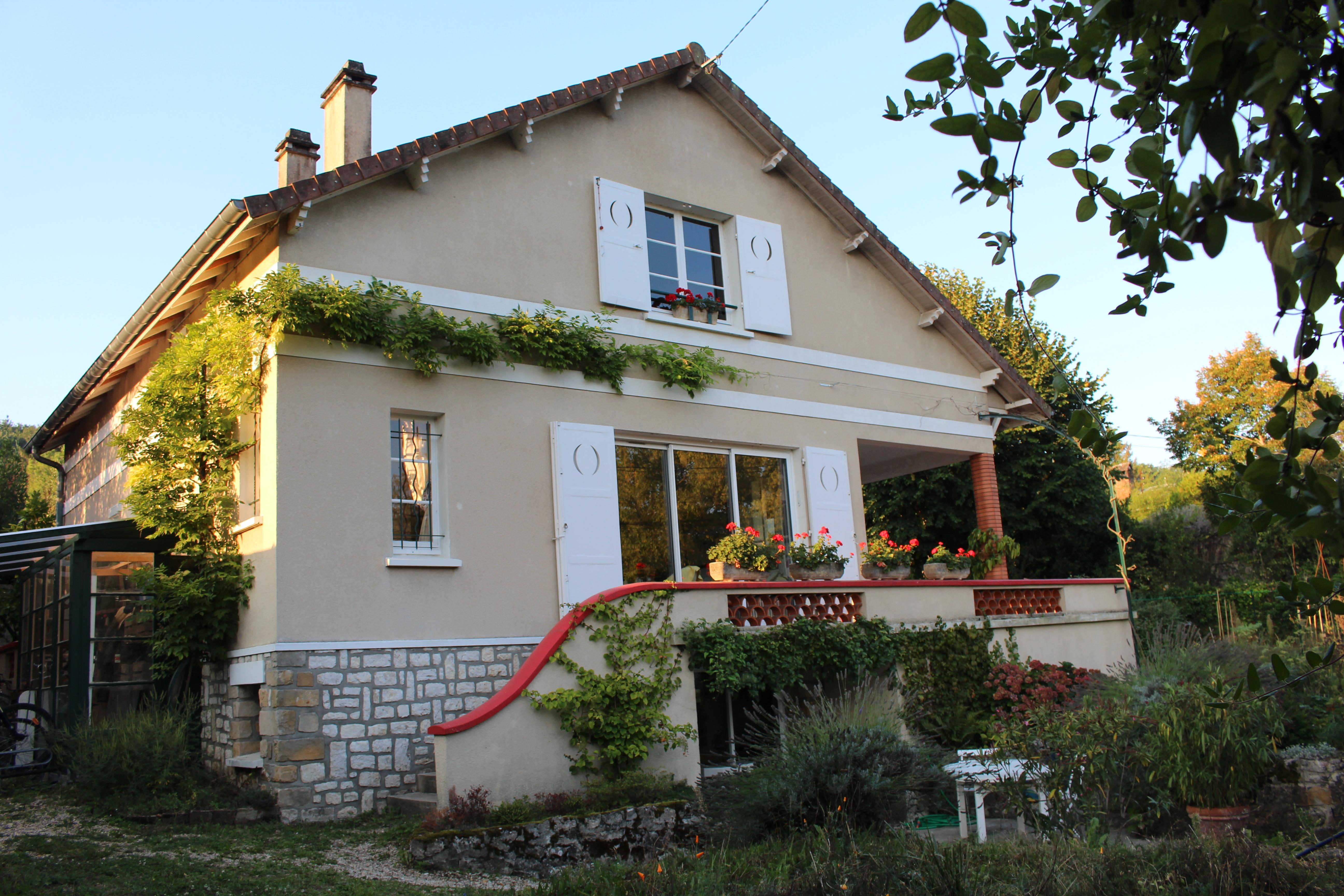 """""""Un balcon en forêt"""" maison d'hôtes"""